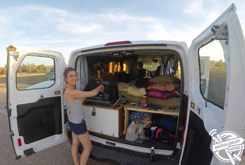 Child Electric Car >> Meet The Writer Living A Nomadic Lifestyle In Her Van Thanks To Her Military Mum | Media Drum World