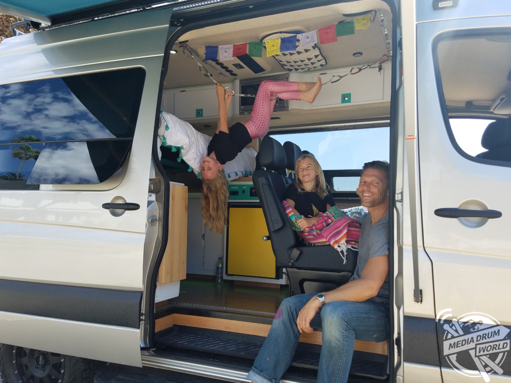 Doting Dad Who Takes Daughters On Adventures In Van They Converted